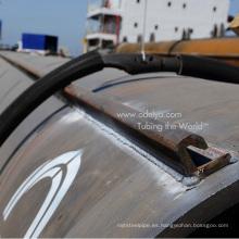 Tubos de embrague para construcción portuaria