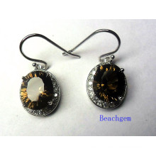 Fashion Concave Quartz Jewellery Earrings (E8765)