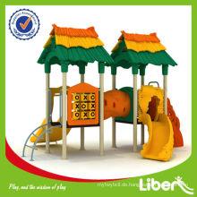 Dreifache Farben Matched Hot Sles Kids Kleine Outdoor Spielplatz für Kindertagesstätte Center