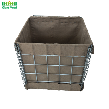 Bukti Partition Security Sand Wall Tentera Hesco Barrier