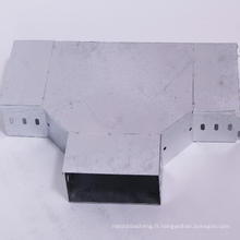 Accessoires de raccordement au coffre en acier galvanisé