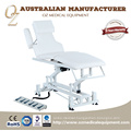 Retractable Wheel Chiropractic Couch Physical Therapy Bed Acupuncture Treatment Table