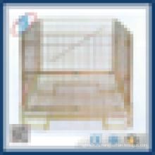 Промышленный штабелируемый складной сетчатый контейнер