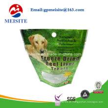 Sacola de embalagem personalizada de alimentos para animais de estimação impressa para cão