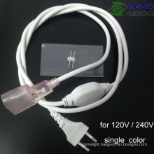 LED Neon Waterproof Power Supply Cable for AC 120V /240V