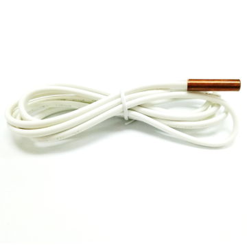 White NTC temperature sensor cables