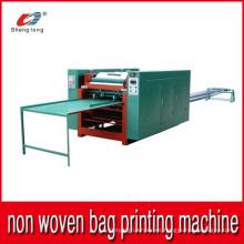 Máquina de impresión de bolsas de tela no tejida automática por piezas Multi-Colors