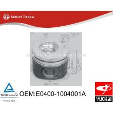 Original yuchai engine YC4E piston E0400-1004001A