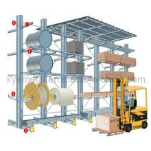 Porte-baguette multifonctionnel à bras simple ou double bras pour entrepôt