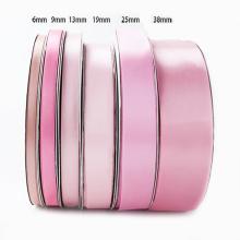 "Custom Logo/Design 1"" 25mm Single Face Polyester Satin Ribbon for Gifts Packaging"