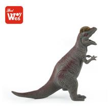 горячий продавать новый продукт дешевые мягкие резиновые динозавра игрушки для детей