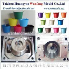 flexible plastic garden bucket mould making&injection mould manufacturers of flexible plastic bucket