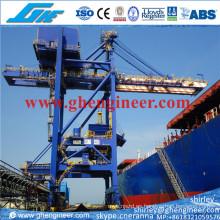 2000tph Grab Ship Unloader para la descarga 200000dwt buque