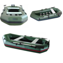 2016 nouveau Design gonflable radeau fluvial bateau sur mesure PVC bateau