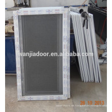 PVC-Fenster mit festem Edelstahl-Moskitonetz