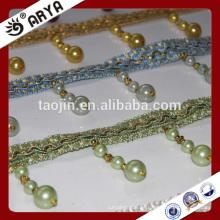 2016 Stock Produkt Ausverkauf für Haus und Dekor von Perle Perlen Fransen
