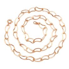 Модные ювелирные изделия Роза Золото Уникальная цепочка
