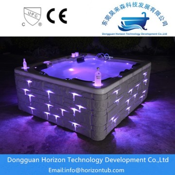 Nooit bubbel spa shell hot tub