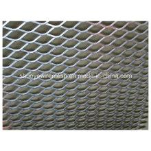 Panel de malla de metal expandido decorativo de aluminio de alta calidad
