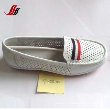 Последние женские туфли без шва отдыха кожаные ботинки (XF562-8)