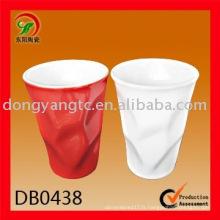Tasse de mode de porcelaine moderne de 9oz