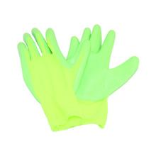 13G Guante de trabajo de nylon con guantes de nitrilo revestidos con nitrilo, guante de nitrilo Polyster