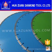 Lame de diamant de diamant de plancher de 350mm Diamond pour la coupe de granit