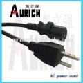 UL Standrad Popular Electrica cabos em PVC com poder powerwire 125V