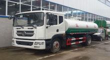 Κοπράνων αναρρόφησης ακαθάρτων φορτηγό Dongfeng 4 x 2