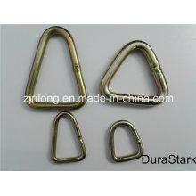 Кольца треугольника и металлические оцинкованные кольца (DR-Z0172)