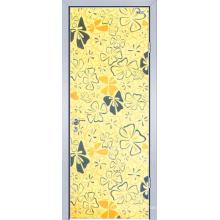 Меламин деревянная дверь (ЖЛ-Eh002)