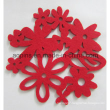 Wedding Decoration Wool Felt Coaster in High Quality (Coaster-30)
