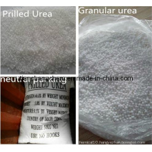 Prilled and Granular Fertilizer Urea46%