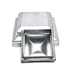 Aluminum die casting decorative garden Fence Pyramid end caps for 3x3 fence square post cap