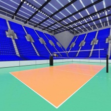 Enlio Volleyball PVC Sportbodenbelag