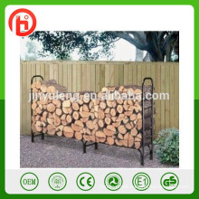 firewood log rack ,andirons, wood log rack , wrought iron log rack , firewood storage metal rack