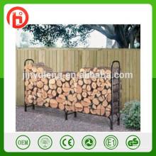 rack de log de lenha, suportes de ferro, cremalheira de madeira log, cremalheira do log do ferro, cremalheira do armazenamento de lenha metal