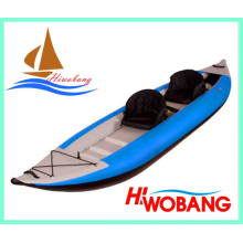 Kayak de pesca chino para 2 personas con remos en venta