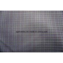 Überprüfen Sie Wollstoff für Anzug