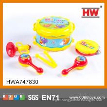 Most Popular Toy Musical Instrument Kids Plastic Drum Set Toy