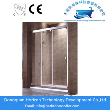 Corner shower enclosures shower doors