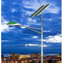 Luz de rua solar de 90W com painel solar, controlador e bateria