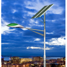 90W солнечный уличный свет с солнечной панелью, контроллером и батареей