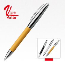 Alta qualidade Preço barato Atacado Git Pen Promotional Leather Pen on Sell
