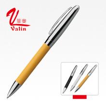 Высококачественная дешевая оптовая цена Git Pen Рекламная кожаная ручка на продажу