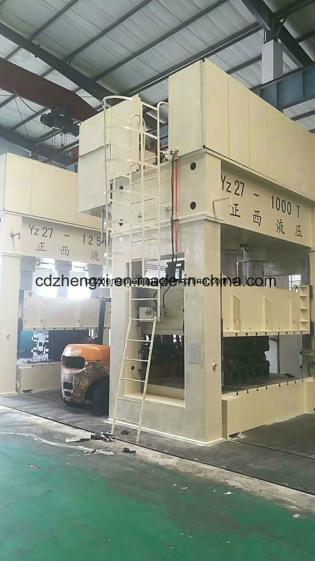 Hydraulic Press Machine for Steel Plate Molding 900 Ton