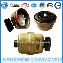 Brass Volumetric Rotary Piston Water Meter of Dn15-25mm