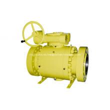 Válvula de bola de muñón de acero forjado