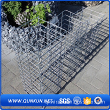 Dark green pvc coated gabion box