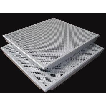 Perforated Aluminum Acoustic False Ceiling Tiles